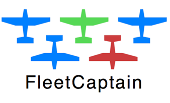 Fleet Captain plane logo